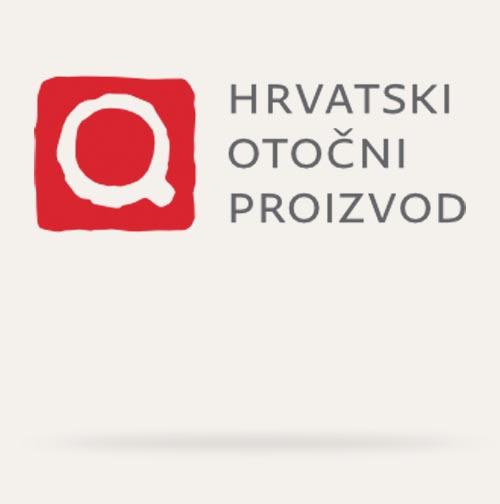 Hrvatski otočni proizvod logo